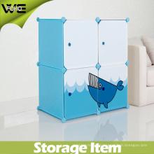 Armoires de rangement enfants en plastique en gros placard organisateur armoire armoire