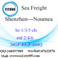 Shenzhen Port Sea Freight Shipping ke Noumea