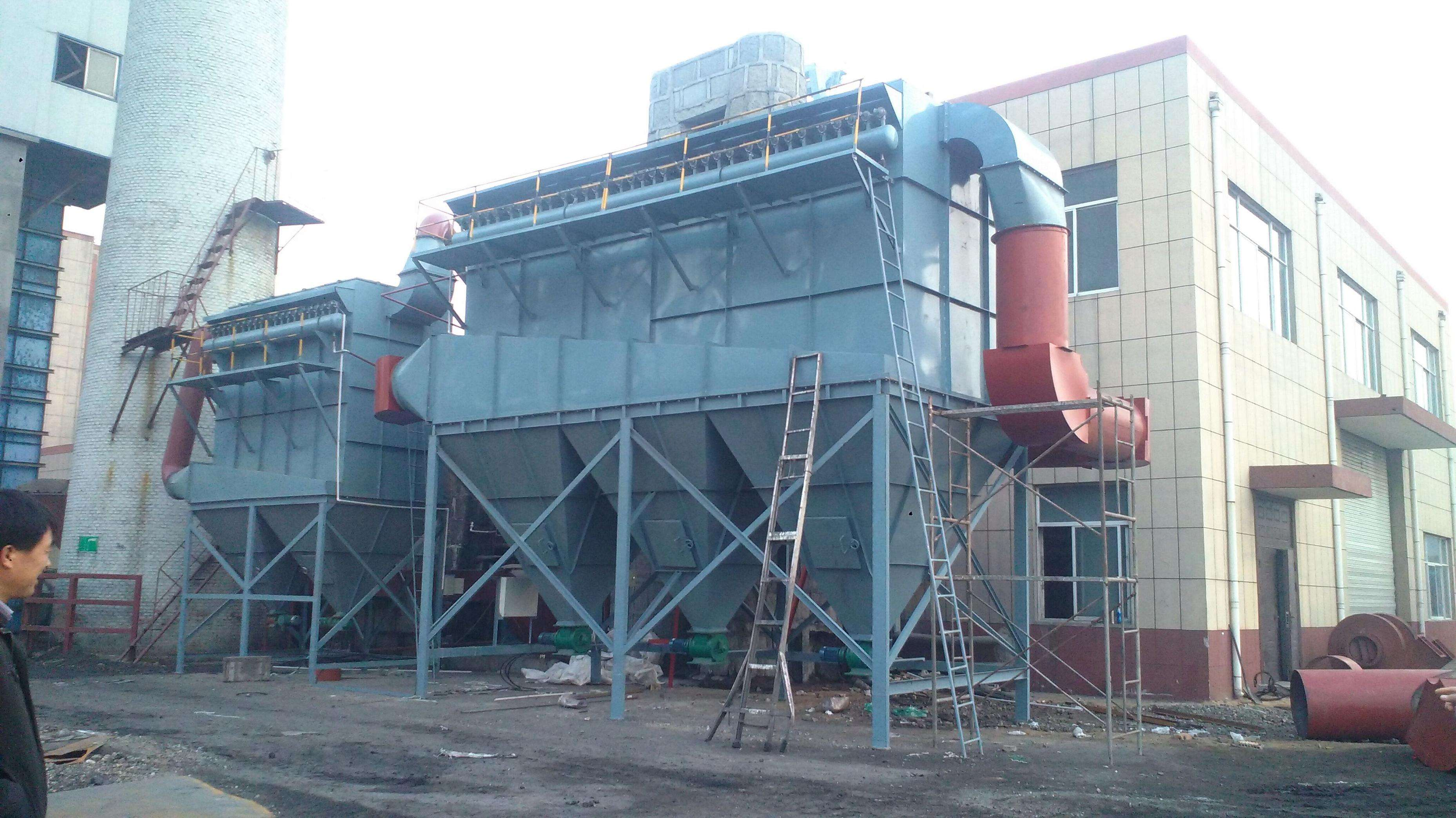 Bag type dust collector in power plant