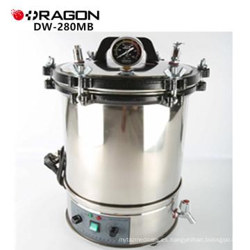 Esterilizador de vapor de presión de autoclave Hospital Protable