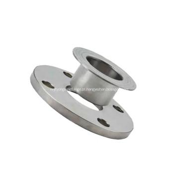 Flanges de tubo de junta sobreposta de aço carbono inoxidável classe 150 libras