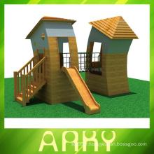 Terrains de jeux extérieurs de qualité en bois à vendre