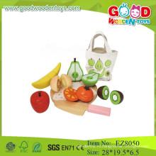 Резка фруктов набор деревянных игрушек для резки фруктов