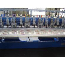Machine à broder à 4 cordons et à double paillettes