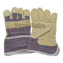 NMSAFETY gant de travail en cuir de grain de porc marron