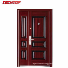 TPS-072sm China Main Entrance Photos Steel Door Design