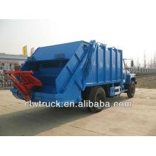 Dongfeng 8000L caminhão de dirt wagon com compressão