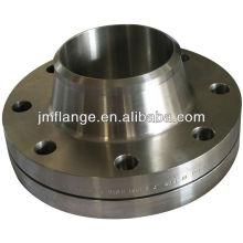 q235 carbon steel asme class300 dn125 w.n flange