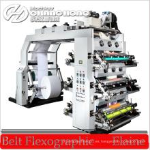 Impresora de la luz UV / máquina de impresión flexográfica ULTRAVIOLETA / maquinaria de impresión flexográfica