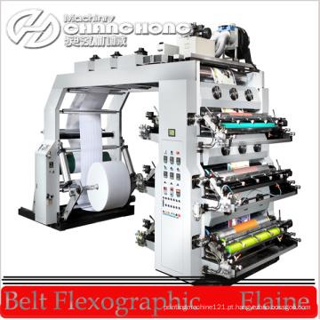 Máquina de impressão da luz UV / máquina de impressão UV de Flexo / maquinaria de impressão Flexographic