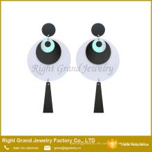 Suppler Dop Kunststoff Acryl Ohrring Hersteller Evil Eye Schmuck Ohrring Piercing Emoji Ohrring Schmuck