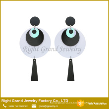 Suppler Dop Plastic Acrylic Earring Fabricante Evil Eye Jewelry Pendiente Piercing Emoji Earring Jewelry