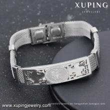 Bracelet-9-fashion jewelry for women pulsera de acero pulseras grabadas al por mayor