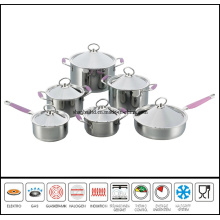 12PCS Stainless Steel Dutch Oven Set