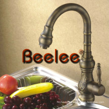 Antique Brass Single Handle Kitchen Faucet, Sink Mixer Tap (Q3053A)