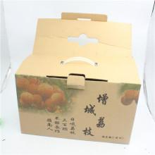 Boîte d'emballage en gros de fruits d'emballage de carton de fruits