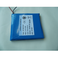 low temperature capacity 3.7V 12ah battery