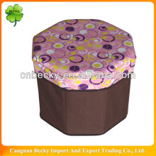 Good quality Cheap,useful various round storage stool