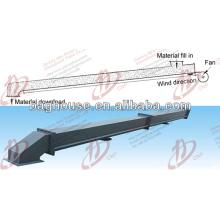 Certificación ISO tela caliente de la diapositiva del aire de la venta para transportar el material a granel