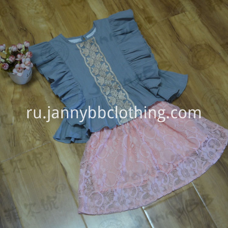 cotton crepe outfit