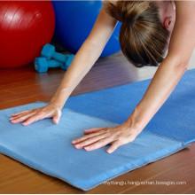 import microfiber sude yoga towel