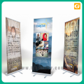 Printing on PP paper roll up banner stand 80*200cm