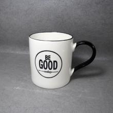 Ceramic Coffee Mug Black Handle