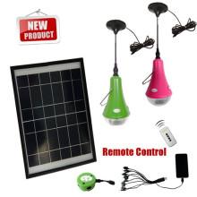 Batería recargable interior led bombilla solar, bombilla solar, lámparas solares