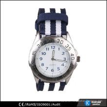 Relógio traseiro de aço inoxidável relógio aquático à prova d'água