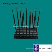 14-полосный UHF VHF WiFi Jammer / мобильный телефон Jammer (GW-JA14)