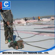 Matériau du toit du stade pvc 1,2 mm d'épaisseur