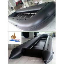 Barco de resgate inflável marinho 8m com 1,2 mm PVC