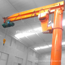 Workshop Widely Use Pillar Mobile Crane 10 Ton