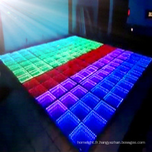 Nouveaux carreaux de plancher de danse de LED d'affichage à LED de mariage de mariage