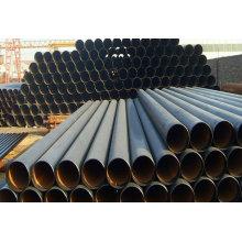 Tubulação sem emenda sem emenda laminada a alta temperatura e laminada a alta temperatura do aço carbono ASTM A53 Sch40