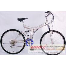 Bicicleta de montaña plegable de acero (Z2656)