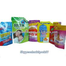 envases de detergente en polvo / bolsas de pie / bolsas de embalaje de plástico