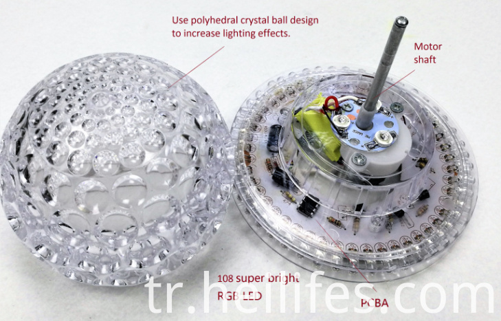 Light Toys for Gift of Crystal ball LED