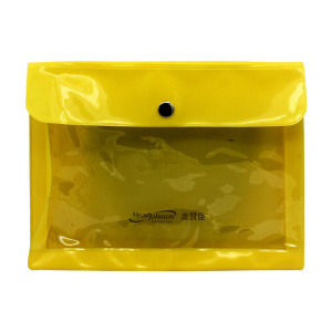 Yellow Envelope Customized PVC Bag