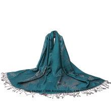 Lenço Jacquard Paisley para algodão Shwal feminino