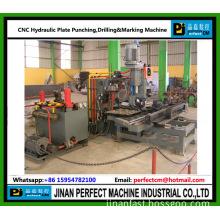 CNC Plate Punching, Drilling and Marking Machine