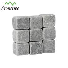 9 шт. В комплекте гравированный серый лавовый винный камень для барных аксессуаров