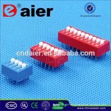 Daier Dipschalter Fernbedienung 4-fach 8-polig DIP-Schalter