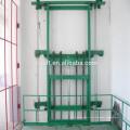 Elevador de carga hidráulico eléctrico vertical de la plataforma al aire libre