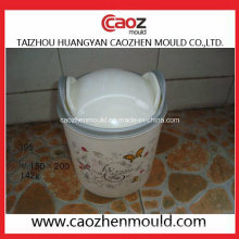 Einzigartiges Design / Used Plastic Wastepaper Container Mould