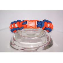"""7"""" mixed color plastic buckle bracelet"""