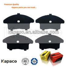 Feuille métallique en caoutchouc Kapaco pour plaquette de freinD1345