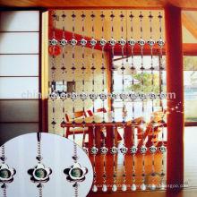China por mayor cristal cortina de cuentas / cortina de cuentas de metal