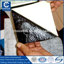 Aluminium selbstklebende Bitumen Abdichtung Membran für Keller