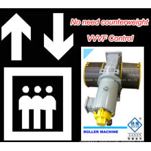 GT120WL VVVF Roller Elevator Traction Machine